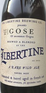 Gose Of Uncommon Origin