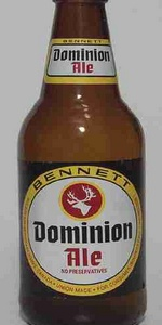 Bennett Dominion Ale