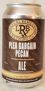 Plea Bargain Pecan Brown Ale