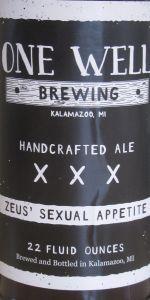 Zeus' Sexual Appetite