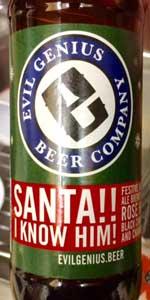 Santa!! I Know Him!