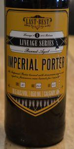 Barrel-Aged Imperial Porter