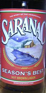 Saranac Season's Best - Nut Brown Lager