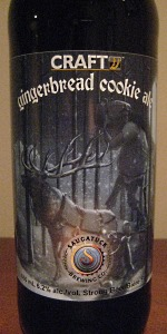 Craft Gingerbread Cookie Ale