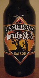 Into The Shade Saison (Unfiltered)