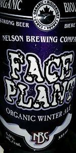 Faceplant Winter Ale