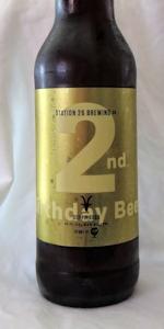 2nd Birthday Beer - Doppelbock