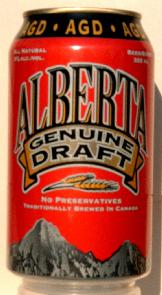 Alberta Genuine Draft