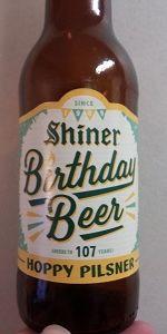 Shiner Birthday Beer 107 - Hoppy Pilsner