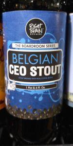Belgian CEO Stout