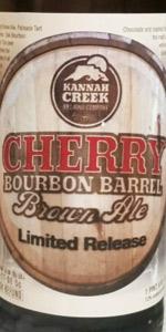 Cherry Bourbon Barrel Brown Ale