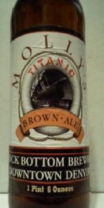 Molly's Titanic Brown Ale