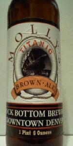 Molly's Titanic Brown Ale