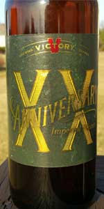 Anniversary XX Imperial Pilsner