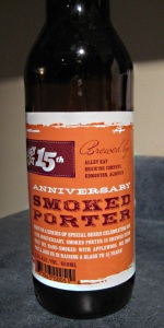 15th Anniversary Smoked Porter
