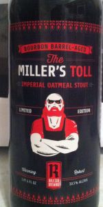 Bourbon Barrel-Aged The Miller's Toll