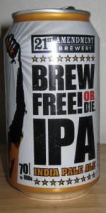 Brew Free Or Die IPA