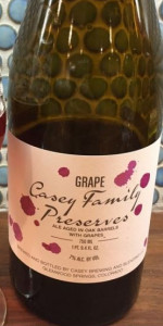 Casey Family Preserves - Grape (Cab Franc)