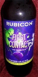 First Contact Extra Terrestrial Pale Ale