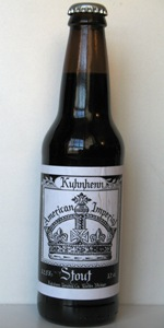 Kuhnhenn American Imperial Stout