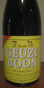Oude Geuze Boon - Bone Dry Mikkeller Selection