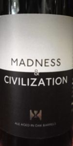 Madness And Civilization #5