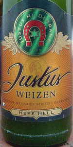 Justus Weizen Hell