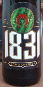 Pfungstädter 1831 Schwarzbier