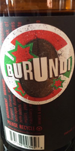 Sump Coffee Stout - Burundi Variant (2016)