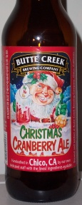 Butte Creek Christmas Cranberry Ale