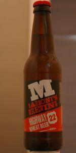 Highway 22 Wheat Beer