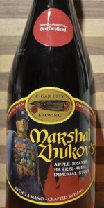 Marshal Zhukov's Imperial Stout - Apple Brandy Barrel Aged W/ Vanilla Beans