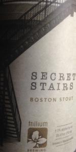 Secret Stairs Boston Stout