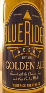 Blue Ridge Golden Ale