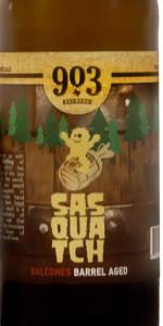 Sasquatch - Balcones Barrel-Aged