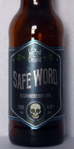 Safe Word Chokeberry IPA