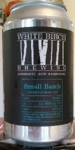 Small Batch Ale Deep Dark River Imperial Stout