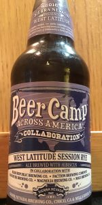 Beer Camp Across America - West Latitude