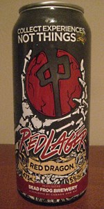 Red Dragon Red Lager
