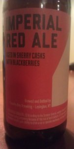 4th Anniversary Imperial Red Ale (Sherry Cask Aged With Blackberries)