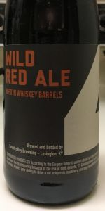 4th Anniversary Wild Red Ale(Whiskey Barrel Aged)