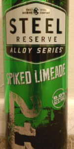 Steel Reserve (Alloy Series) Spiked Limeade