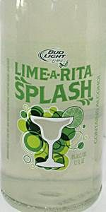Bud Light Lime Lime-A-Rita Splash