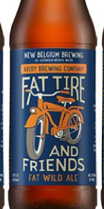 Fat Tire And Friends Fat Wild Ale