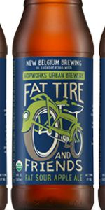 Fat Tire And Friends Fat Sour Apple Ale