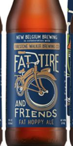 Fat Tire And Friends Fat Hoppy Ale