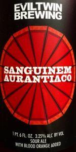 Sanguinem Aurantiaco