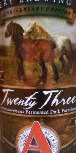 Avery Anniversary Ale - Twenty Three