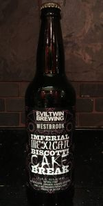 Evil Twin / Westbrook Imperial Mexican Biscotti Cake Break