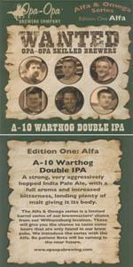 A-10 Warthog Double IPA